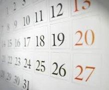 Kalendář událostí